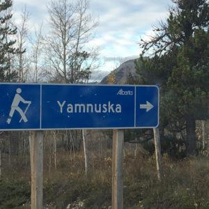 Yamnuska_hike_sign